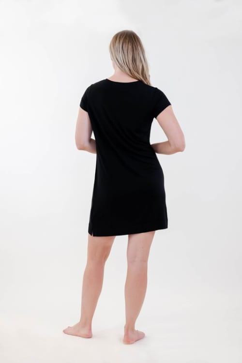 One Spirit Pocket Shirt Dress - Back