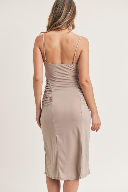 Kelli Ruched Dress - Back