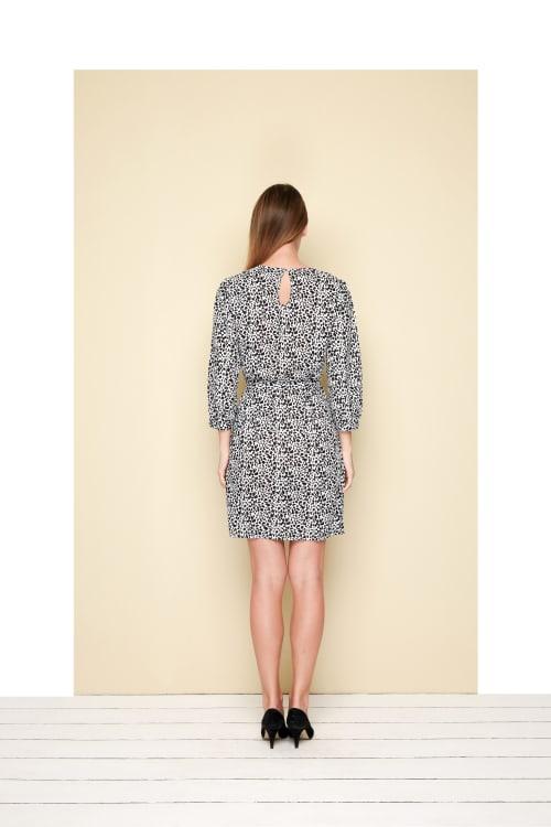Bliss Mini Dress  - Plus - Back
