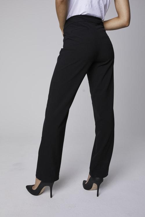 Roz & Ali Secret Agent Pants Cateye Rivets - Average Length - Back