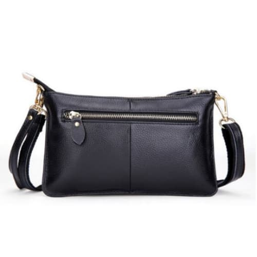 Tonya Leather Crossbody - Back