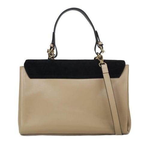 Simonetta Leather Handbag - Back