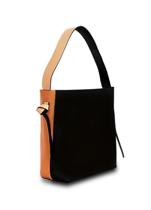 Versa Leather Tote - Back
