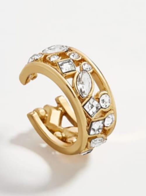 Gold Plated Tina Ear Cuffs - Back