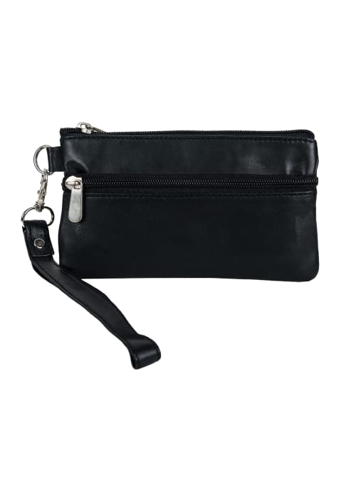 Champs Leather Smartphone Wristlet - Back