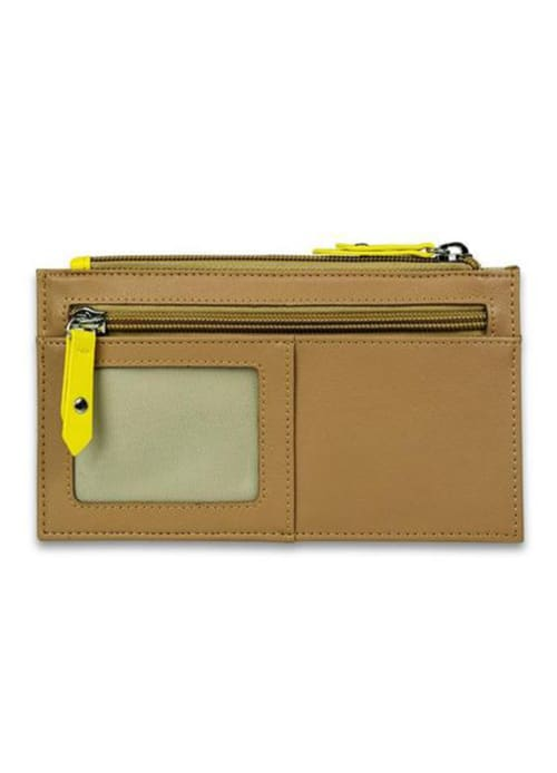 Amelia Leather Wallet-Cinnamon - Back
