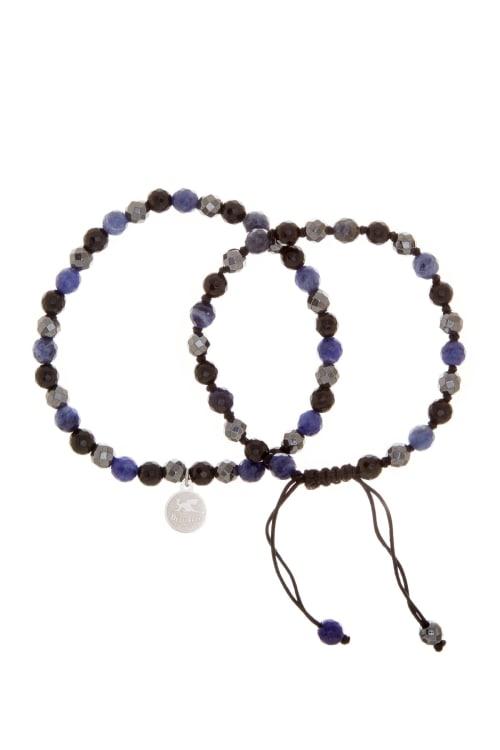 Jean Claude Shamballa Beads Bracelet - Back