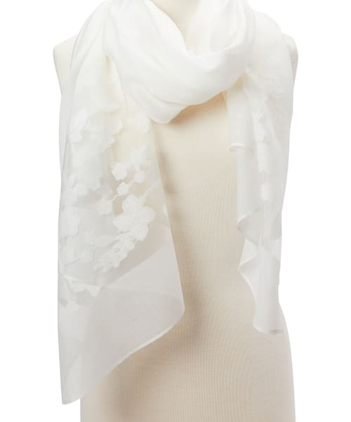 Long Soft Shawl Wrap Scarf - Back