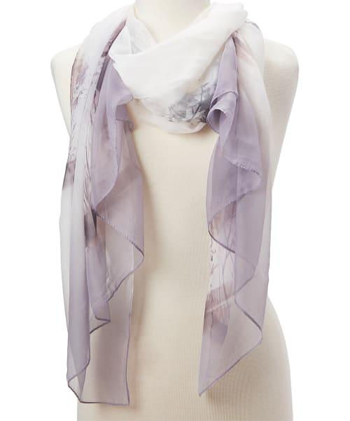 Long Scarf Soft Shawl Wrap Scarfs Blanket Fashion Head Stole Lady Women Scarves - Back