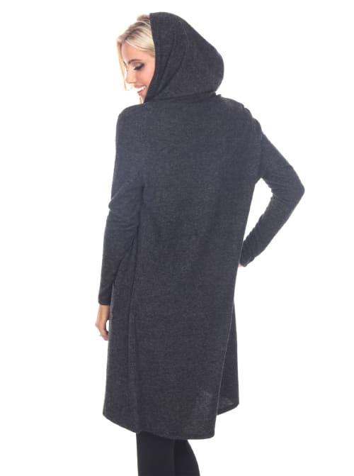 North Long Sleeve Hoodie Cardigan - Back