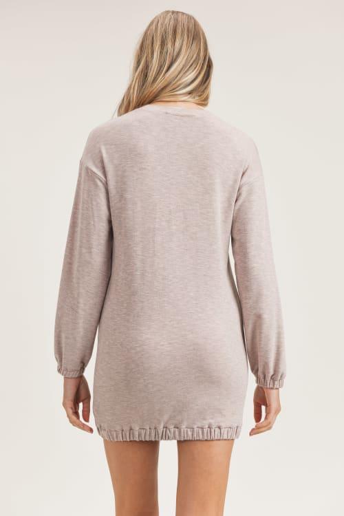 Rhiannon Knitted Dress - Back