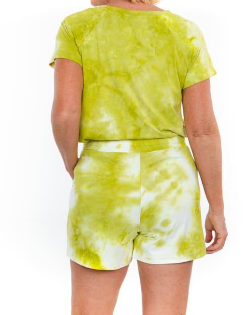 Sport Elle Tie Dye Knit Short - Back