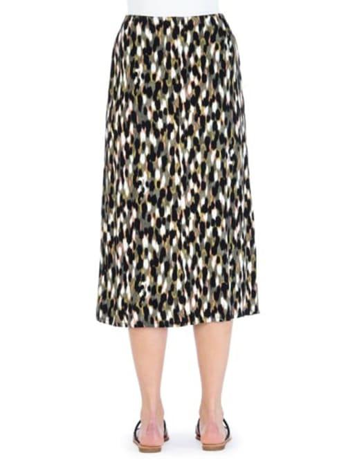 Side Tie Midi Skirt - Back