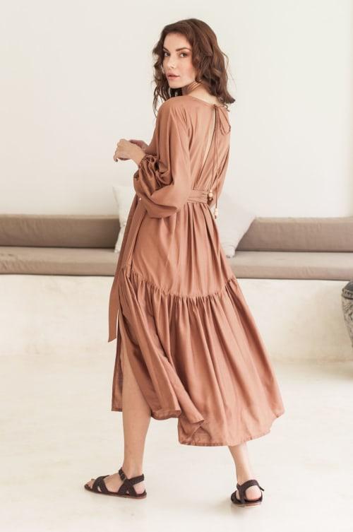 Thalia Midi Dress - Back