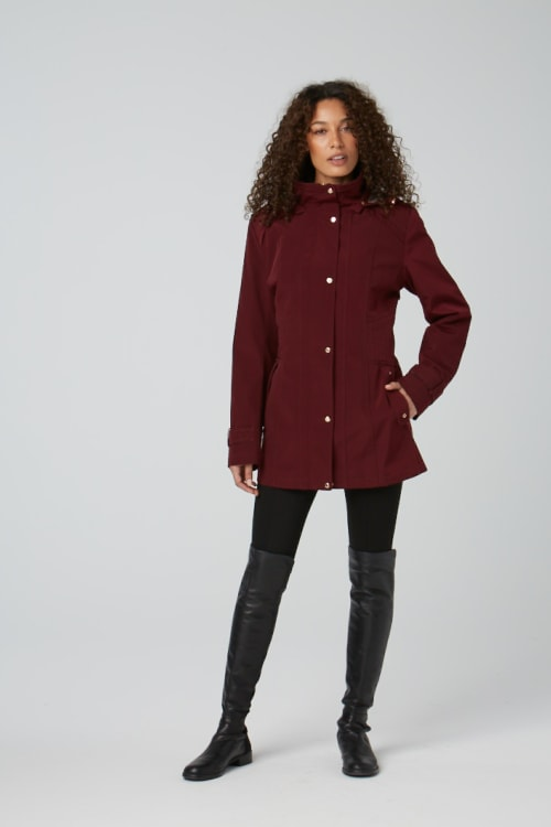 Gallery Coats With Detach Hood, Anorack Style - Back