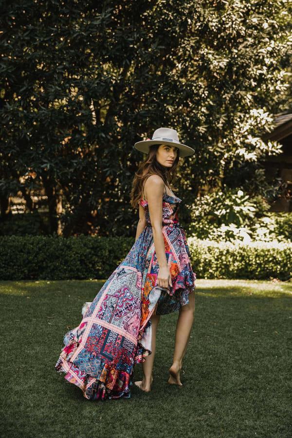 Juliette Dress In Kasbah - Kasbah - Front