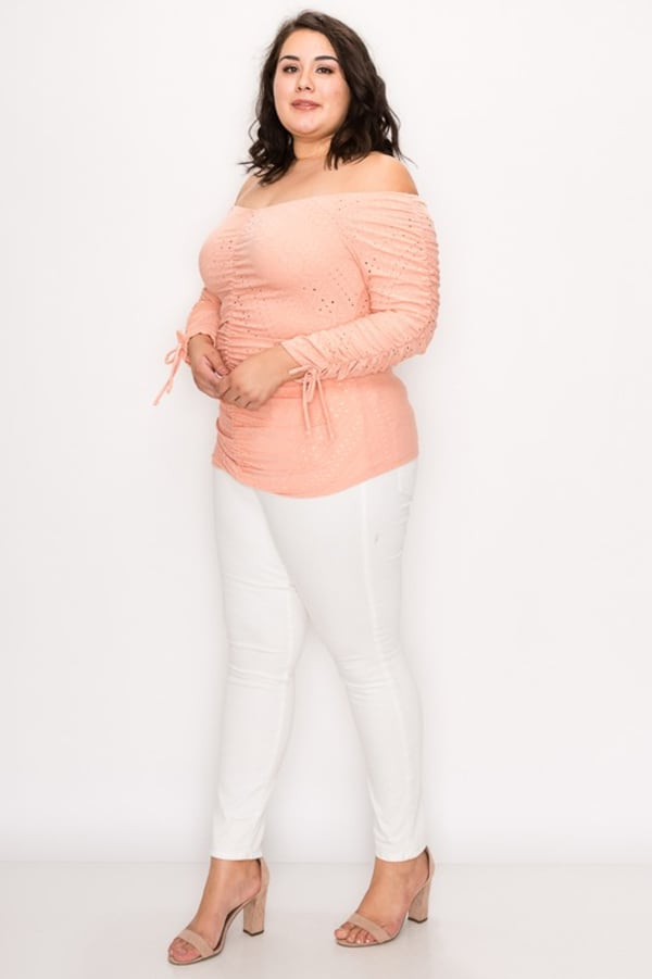 Show-Off Top - Blush - Front