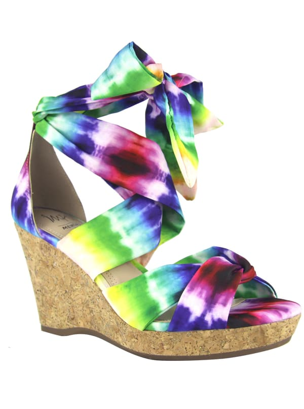 Impo Ozara Wedge Sandals - Bright - Front
