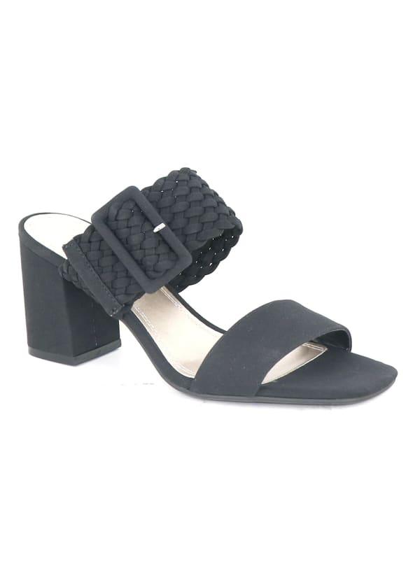 Impo Vlossom Block Heel Sandals - black - Front