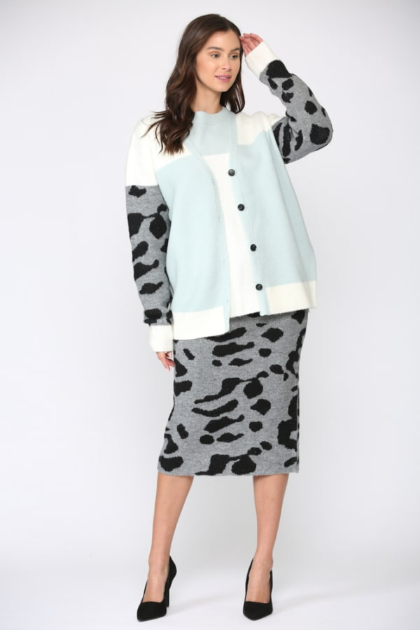 Stacy Cardigan - Multi - Front