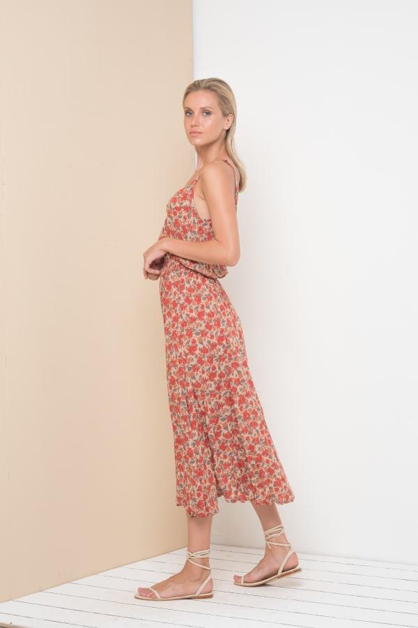 Alizee Dress - Framboise - Front