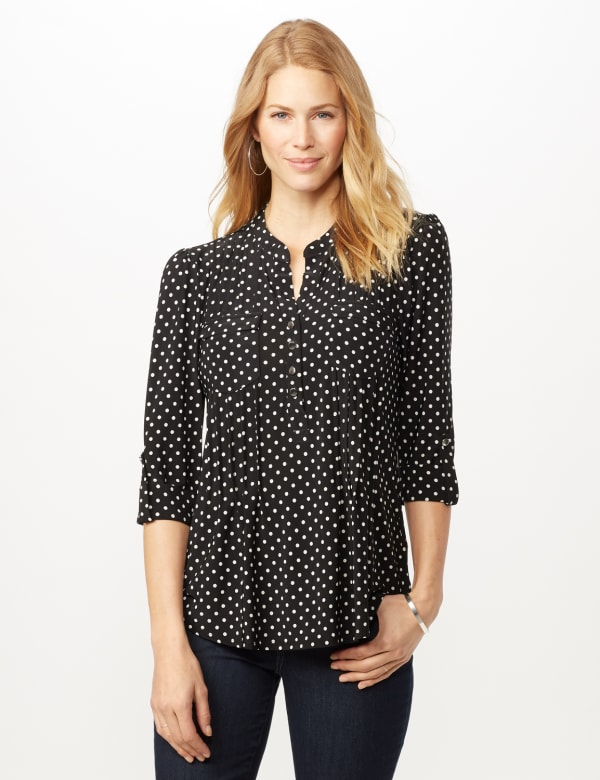 Dotted Popover -Black/white - Front