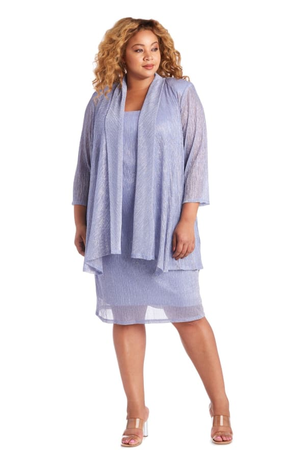2 Piece Jacket Dress - Plus