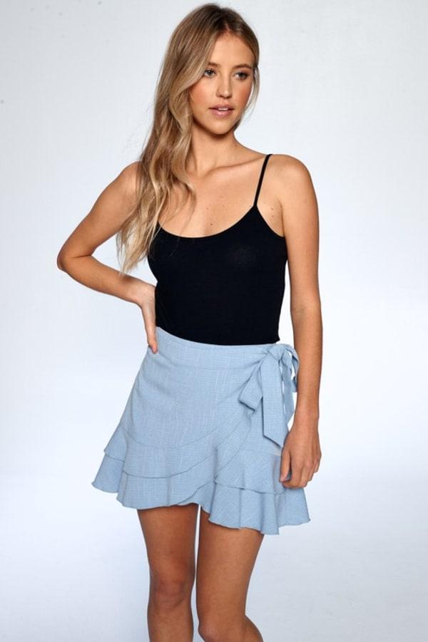 Layered Ruffle Skirt
