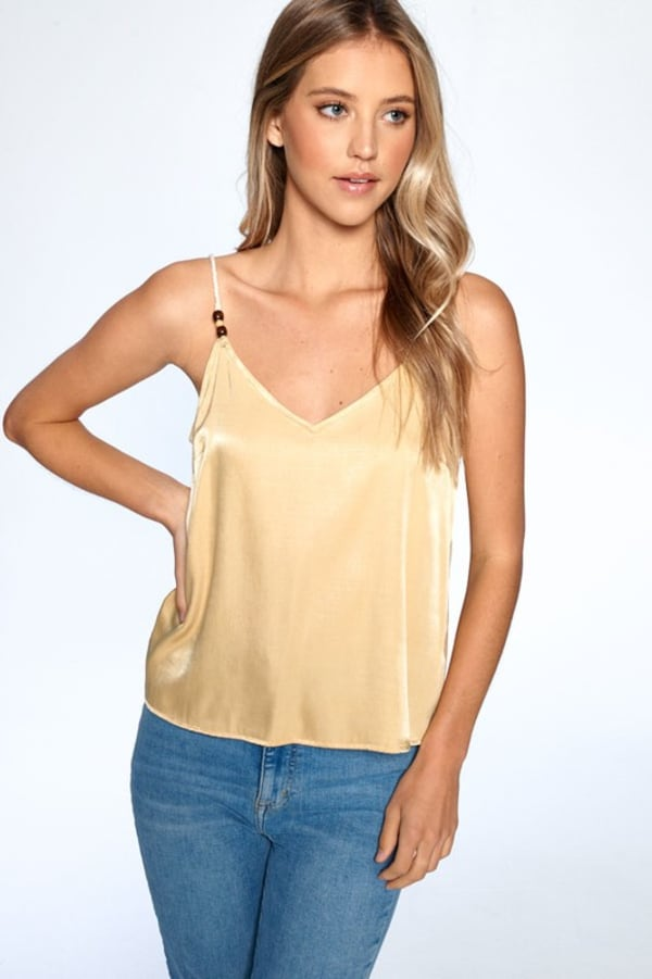 Silky Essential Tank - Yellow - Front
