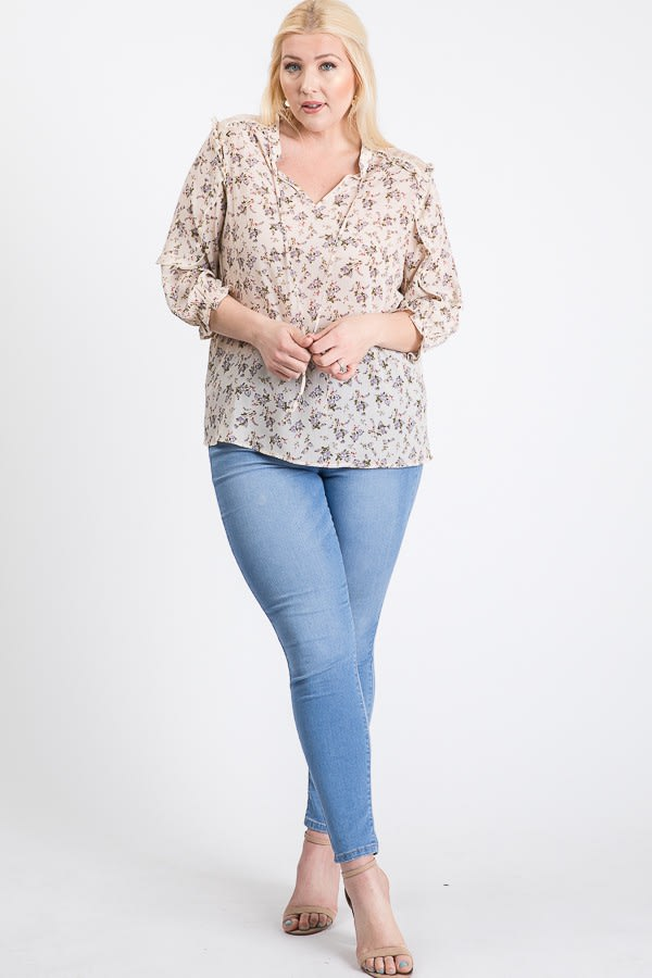 Ready To Go Lace Top