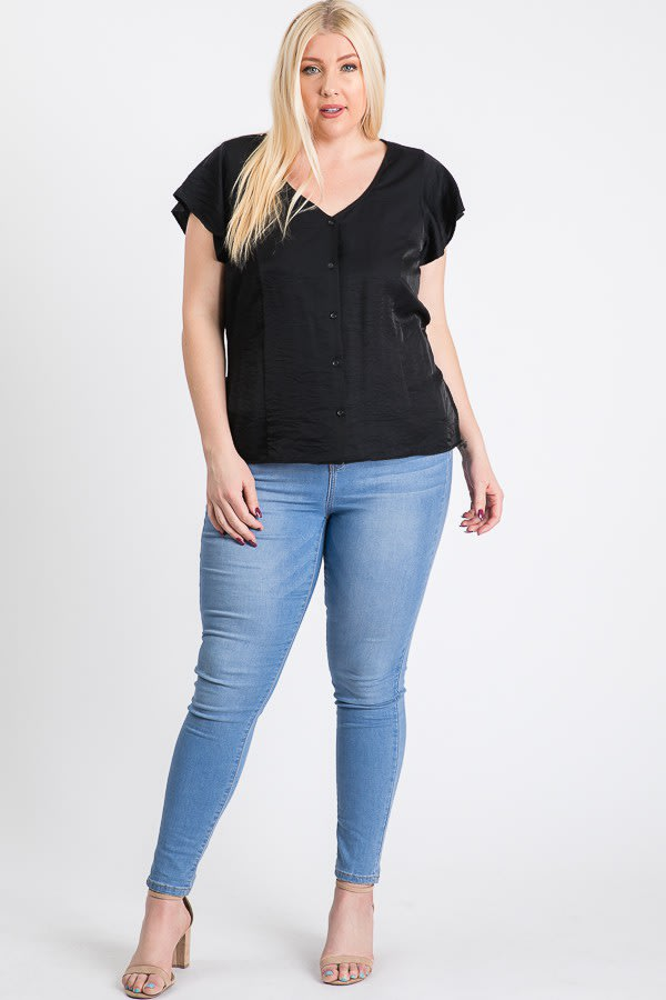 Loosen It Top -Black - Front