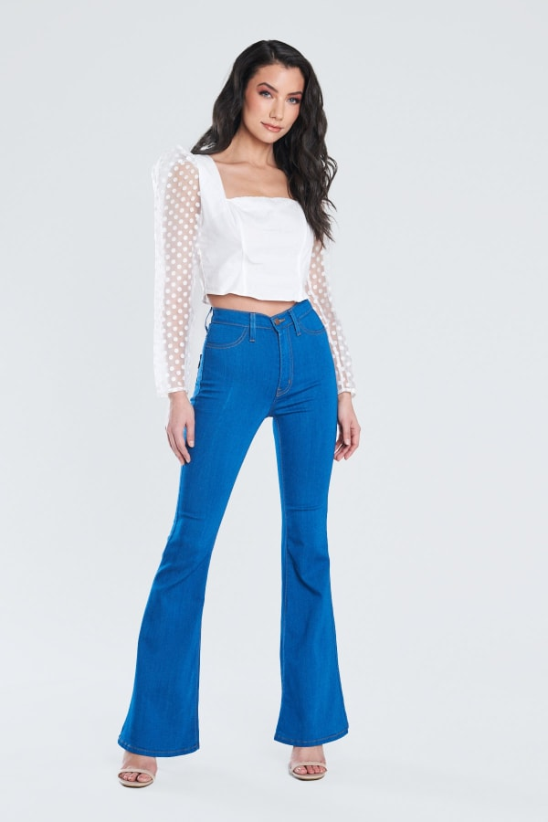 Perfect Fit Flare Jeans
