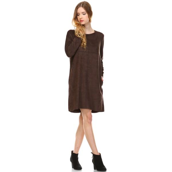 Aurora Long Sleeve Round Neck Dress