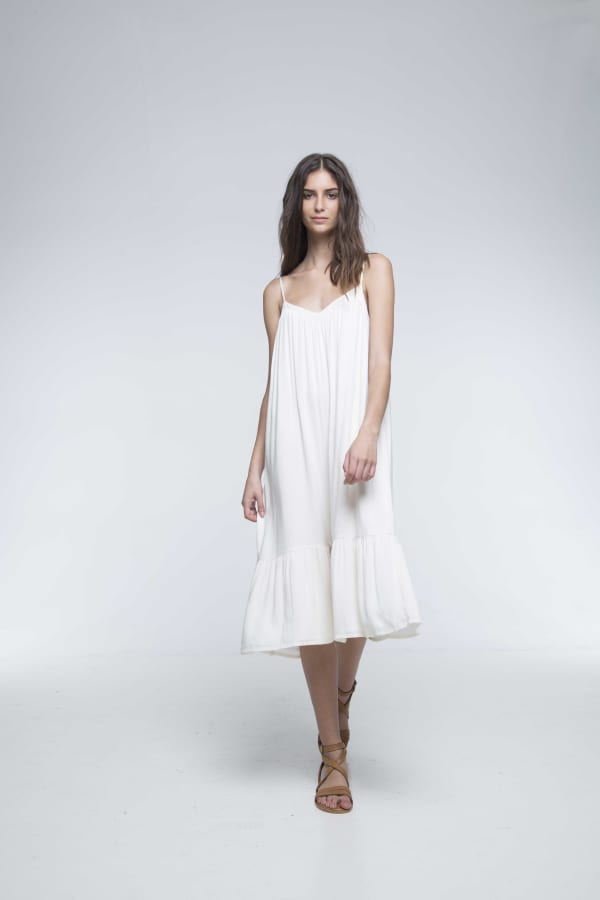 Aesop Dress - White - Front