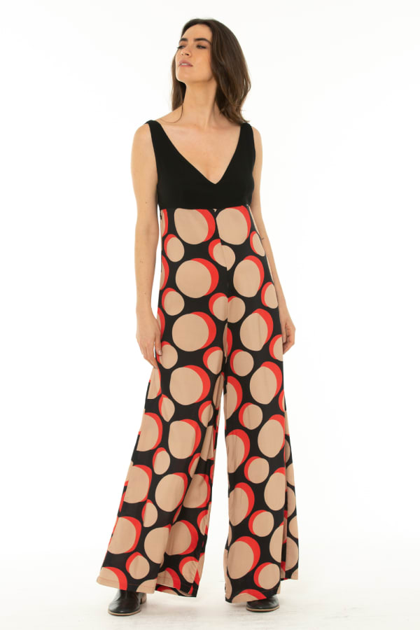 Jumpsuit Galaxy Red