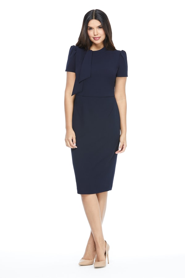 Maggy London Diana Dress - Misses - Navy - Front