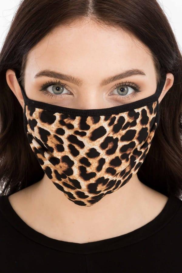 Wild Thing Fashion Face Mask