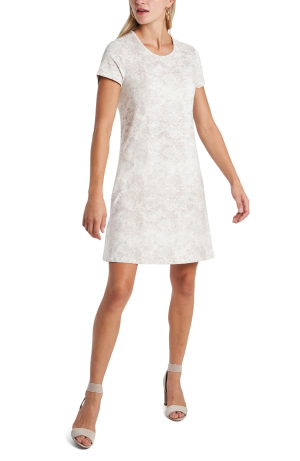 Print Tee Shirt Dress - Misses