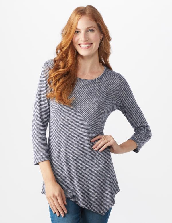 Westport Space Dye Sweater Knit Tunic