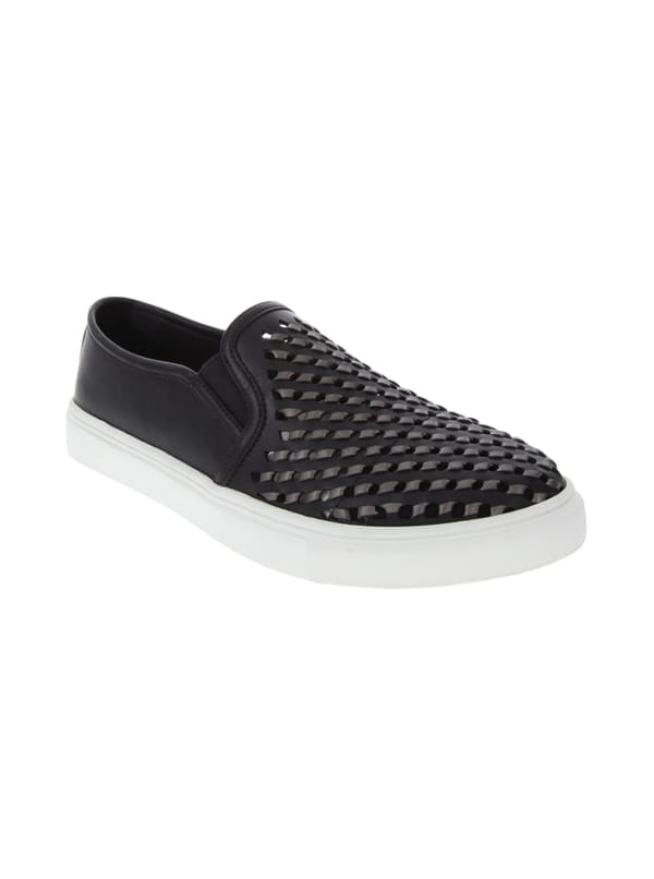 Willis Slip-On Sneaker - Black - Front