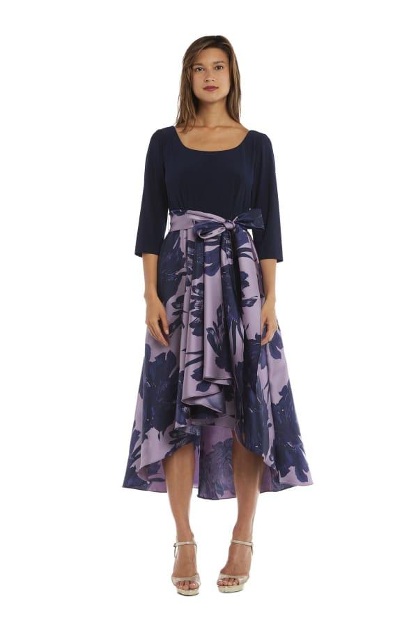 Cascading High Low Dress
