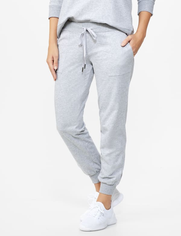 DB Sunday French Terry Jogger -Grey - Front