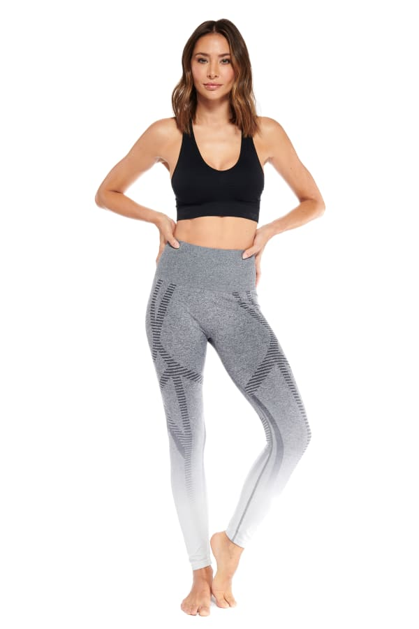 Nez Legging - Heather Grey - Front