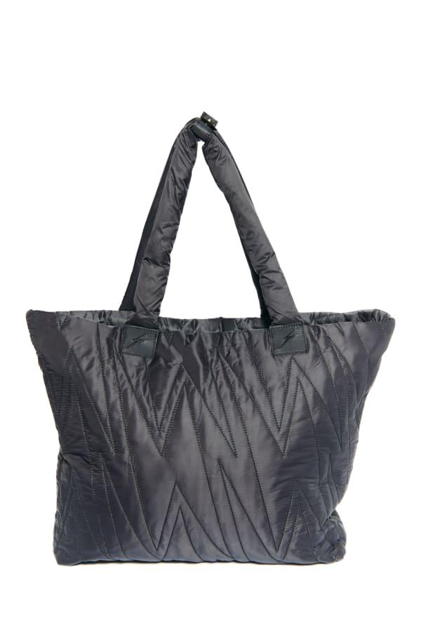 Karma Ultra Light Allover Bolt Bag - Black - Front