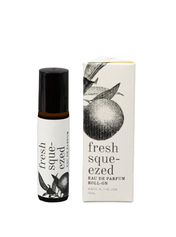 Fresh Squeezed- 10mL Eau de Parfum Roll-On - Amber Glass - Front