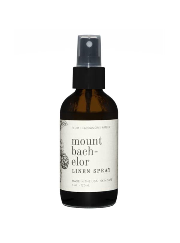Mount Bachelor- Linen Spray 4 oz.- Botanical Collection - Amber Glass - Front
