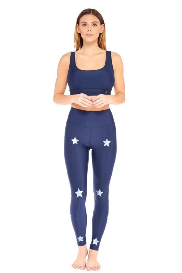 Star Light Star Bright Legging - Navy - Front