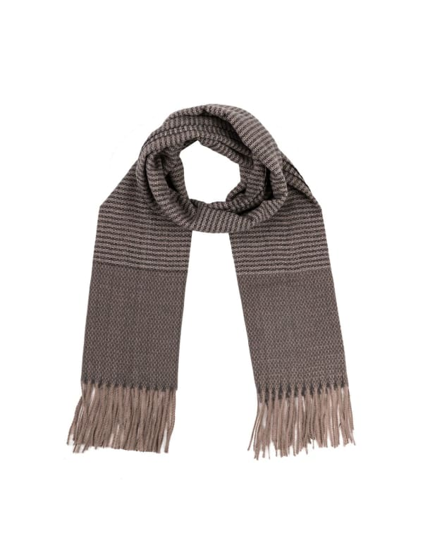 Long Scarf with Tassels