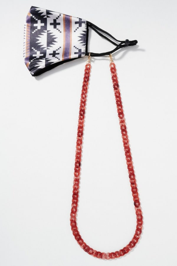 Acetate Link Chain Mask Lanyards