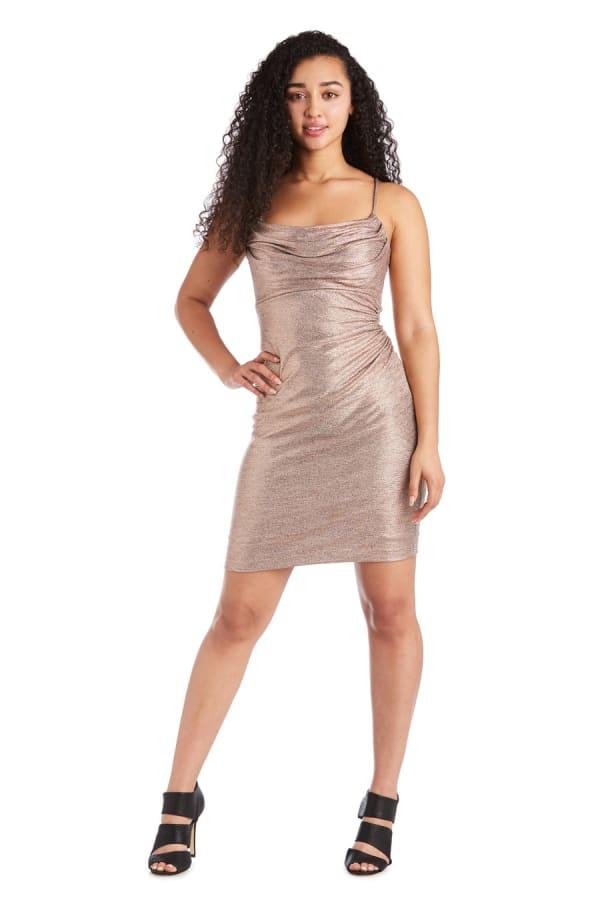 Morgan & Co. Short Shimmer Skirt